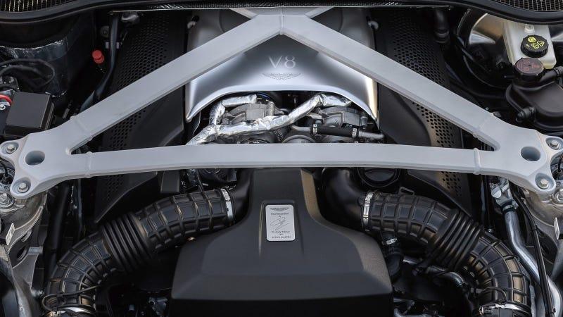 Aston Martin Tuned The DB11's AMG V8 To Sound More Aston Martin on wooden car engine, aston martin lagonda, volkwagen engine, gallardo spyder engine, toyota iq, alfa romeo engine, nissan engine, rolls-royce phantom, lagonda engine, subaru engine, gobron-brillie engine, maserati engine, die another day, volvo s60, fiat engine, trike engine, vw engine, v12 engine, audi engine, aston martin one-77, aston martin virage, lamborghini murciélago, austin american engine, mazda engine, aston martin vantage, isuzu engine, luxury car engine, bmw z8, toyota engine, bmw engine, land rover engine, aston martin db4, aston martin rapide, aston martin dbs, aston martin dbs v12,