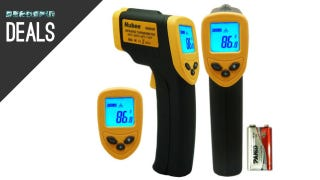 Illustration for article titled Discover How Cold You Are With This $12 IR Thermometer, and More Deals