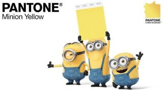 "Illustration for article titled Pantone's ""Minion Yellow"" Isn't Just Annoying, It's Bad For Designers"