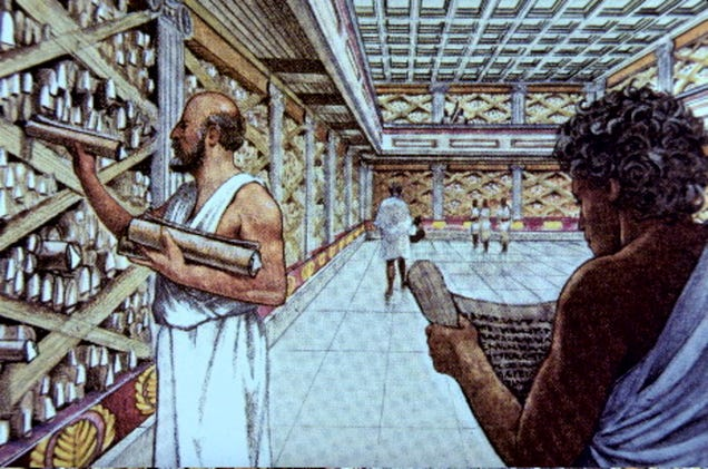Image result for library of alexandria