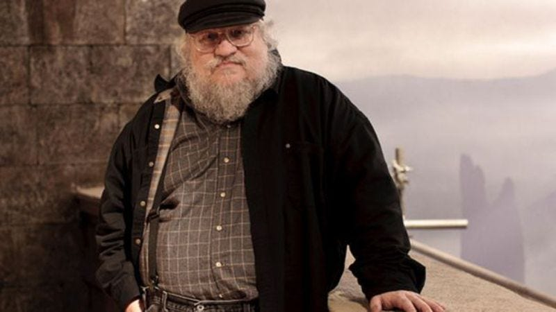 Illustration for article titled George R. R. Martin skipping Comic-Con to actually write a damn book