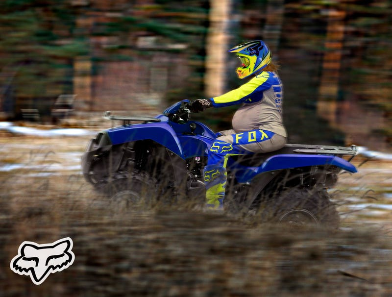 Illustration for article titled Fox Racing Releases New Line Of Maternity ATV Gear