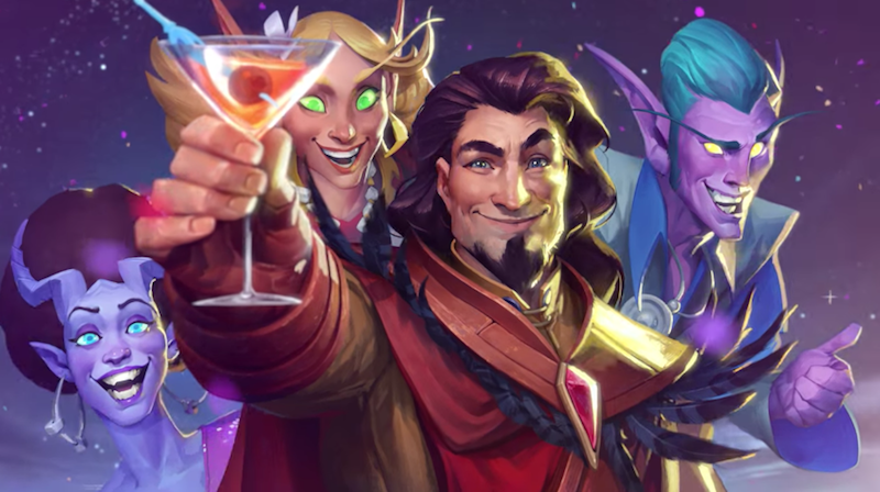 Illustration for article titled Hearthstone's New Adventure Is One Big Party