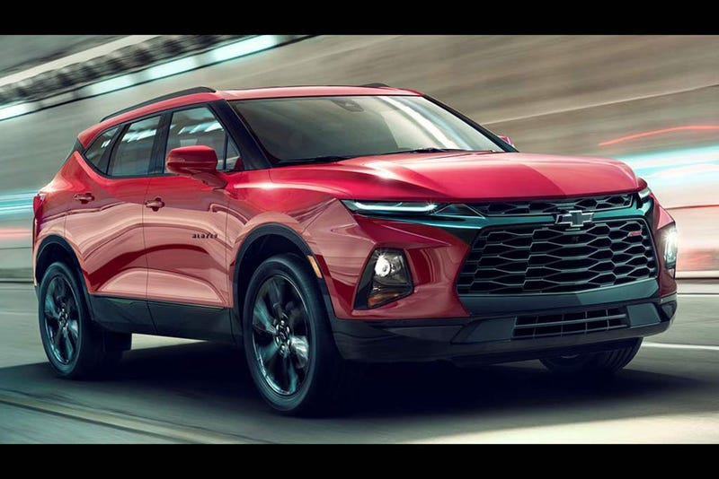 Illustration for article titled The 2019 Chevy Blazer starts at $30,000