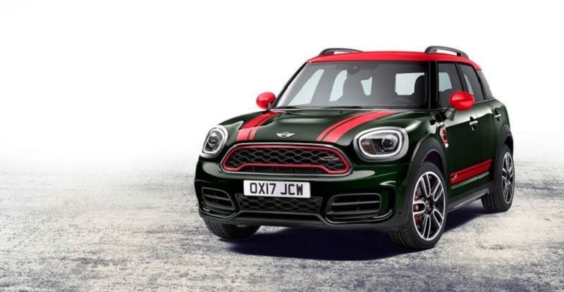 The 2017 Mini Countryman Just Might Be Angriest And Potentially Ugliest Little Car Ever M Produced So At Least Now There S John Cooper Works