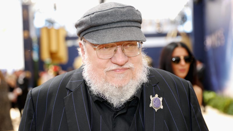 "Illustration for article titled George R.R. Martin admits he's ""struggling"" with The Winds of Winter"