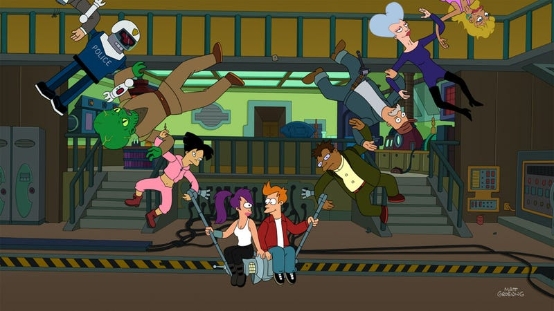 Illustration for article titled This Week's TV: Watch a Clip from Futurama's Huge Series Finale!