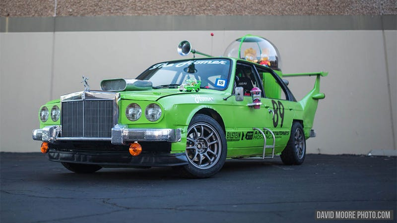 Someone Finally Built Homer Simpson's Hideous Green Car