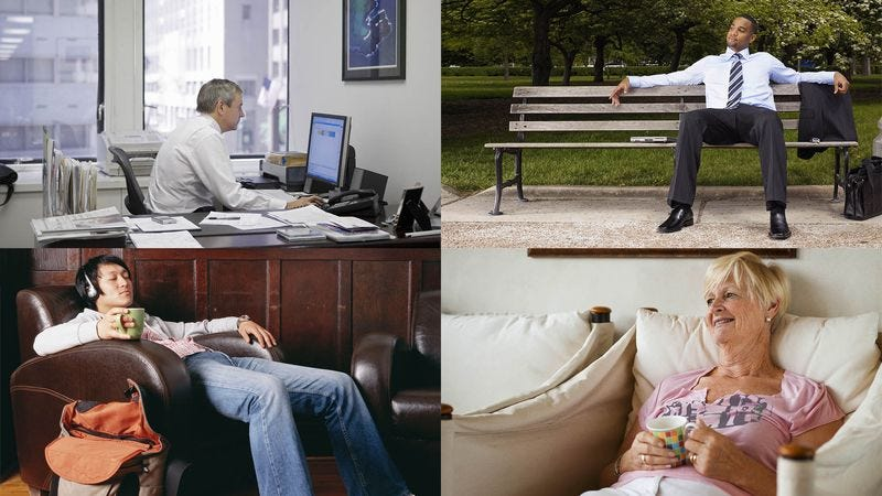 Illustration for article titled New Study Finds People Who Sit For At Least 5 Hours Each Day Are Comfier