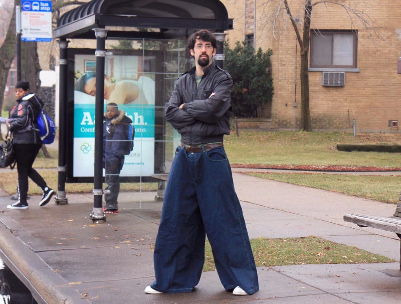 Illustration for article titled Cool Guy From Middle School Still Sporting Phat Pair Of JNCOs