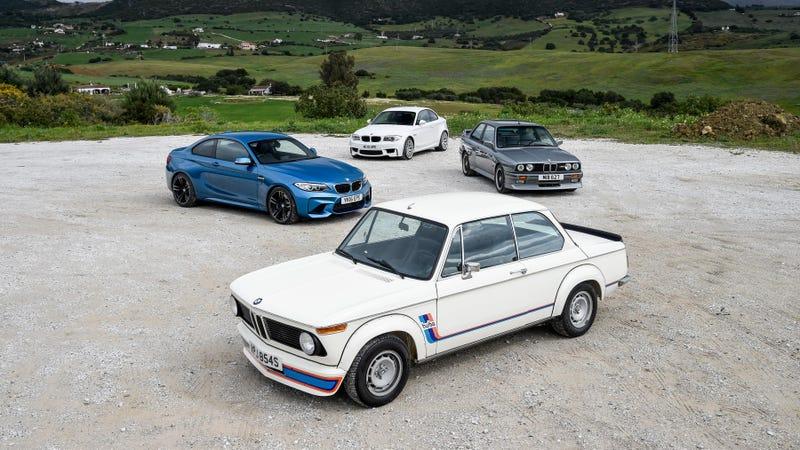 Illustration for article titled Good Read: BMW M2 v 1M v E30 v 2002 Turbo