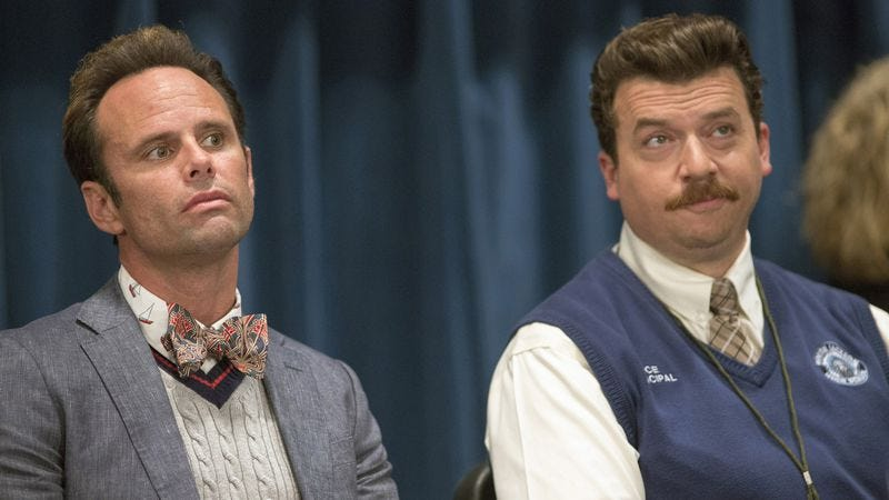 Goggins, left, with Danny McBride in Vice Principals (Photo: Fred Norris)