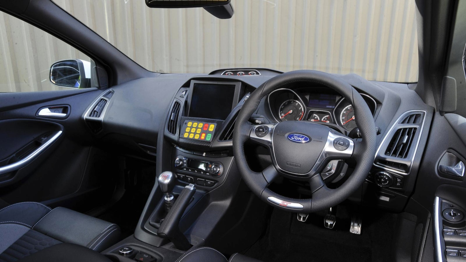 & Fordu0027s Focus ST Police Car Makes Us Want The Ticket markmcfarlin.com