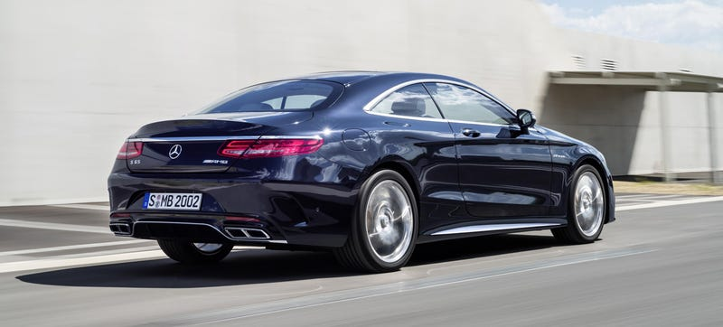 if you thought the 2015 mercedes benz s63 amg coupe was impressive and you should because it is amazingly powerful and luxurious then its about to