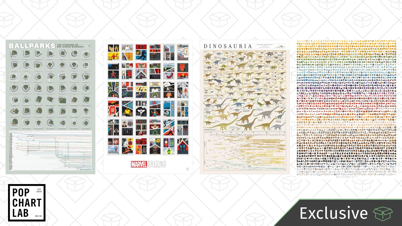 Hang Your Knowledge On The Wall With This Sitewide From Pop Chart Lab Exclusive