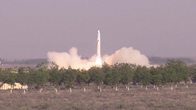 Rsstream onespace technologies conducted the first private rocket launch in chinese history this week firing off the 30 foot 9 meter os x from a platform in fandeluxe Images