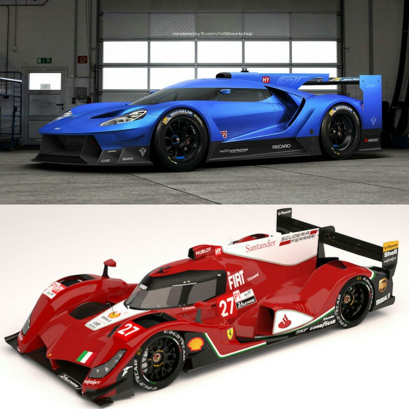 I Would Love To See A Ford Vs Ferrari, Battle