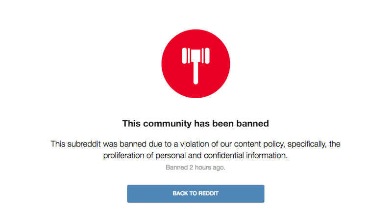 Image: r/altright banned.