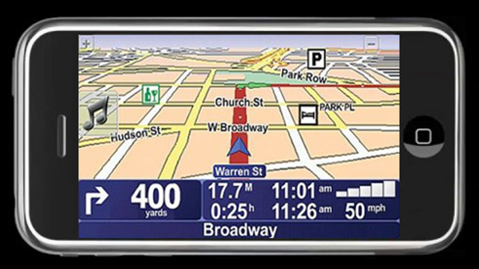 TomTom Has Navigation App Already Running On the iPhone