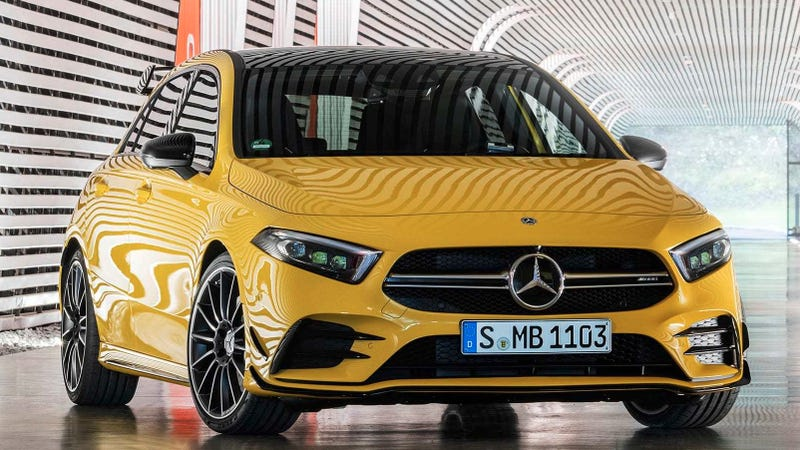 2019 Mercedes Amg A35 This Is Apparently Benz S New 300 Hp Hot Hatch