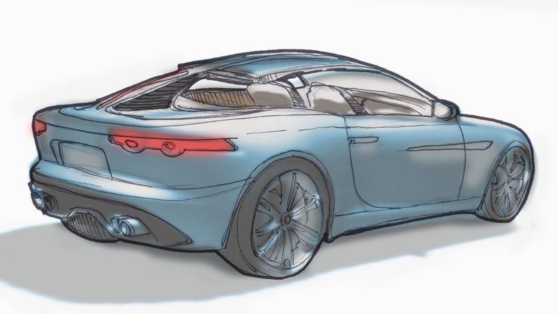 Illustration for article titled How The Jaguar F-Type Designer Gently Reminded Me I'm An Idiot