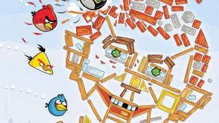 Illustration for article titled Angry Birds Go MAD, Crush Alfred E. Neuman