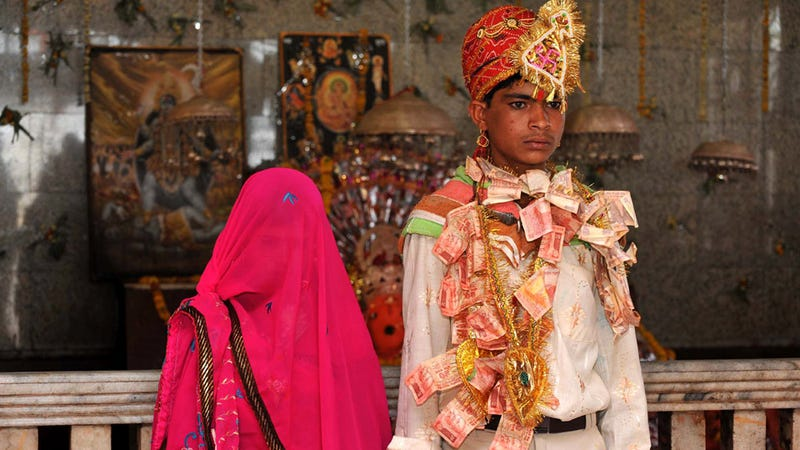 Illustration for article titled Indian 'Baby Bride' Makes History by Successfully Having Her Marriage Annulled