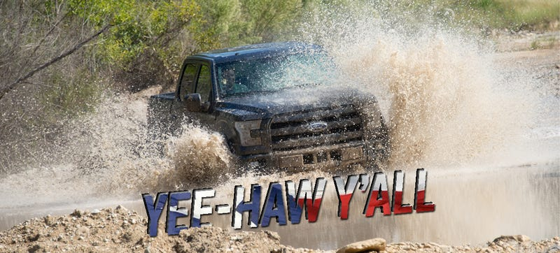 Illustration for article titled We Drove The 2015 Ford F-150 Like Wild Texans, It Still Got Us Home