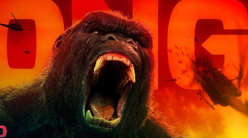 Illustration for article titled There Are So Many Other Creatures in These Kong: Skull Island TV Spots