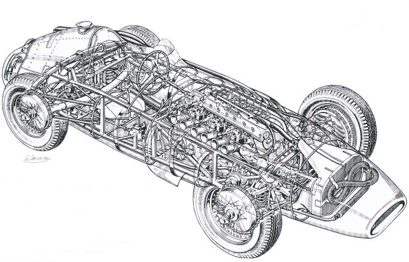 Illustration for article titled Maserati Monday 250F Edition
