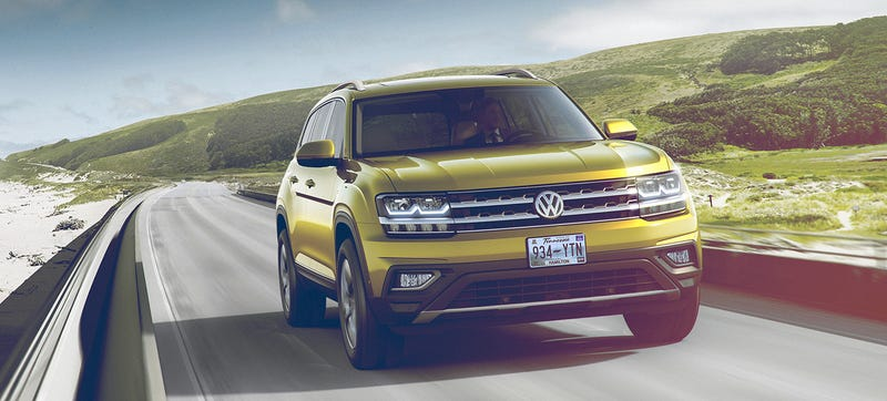 Illustration for article titled The 2018 Volkswagen Atlas Is VW's Crossover Salvation In America