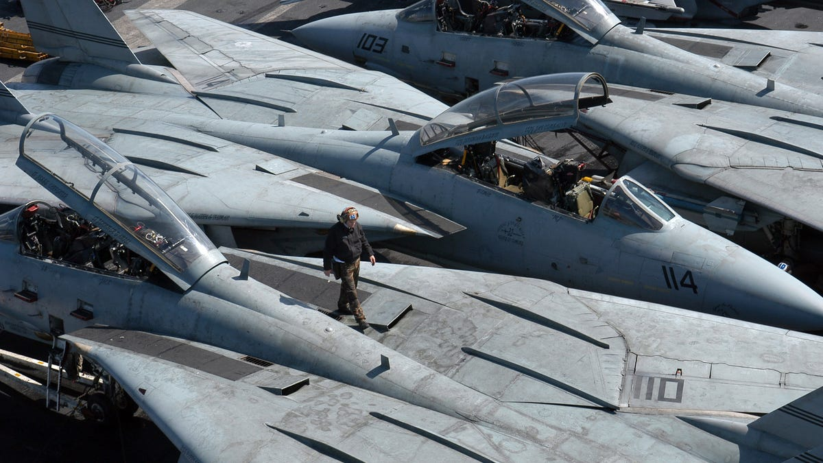 Elite F-14 Flight Officer Explains Why The Tomcat Was So