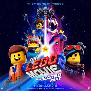 Illustration for article titled When You're An Adult Crying Alone During The Lego Movie 2