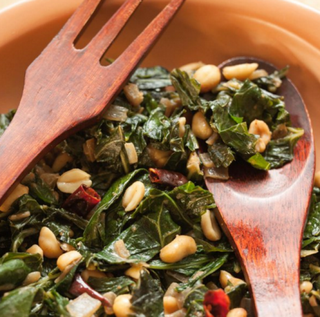 Whole Foods tweeted this photo of collard greens and peanuts on Jan. 14, 2016.Twitter
