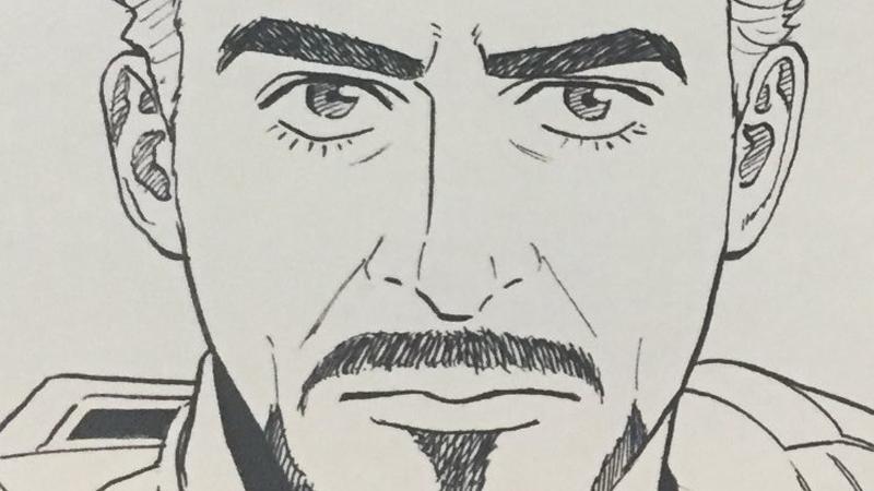 Illustration for article titled Gaze Into the Eyes of Manga Iron Man