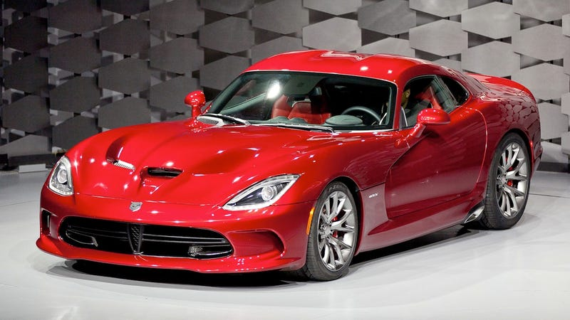 Illustration for article titled 2013 SRT Viper: The Snake Is Back!