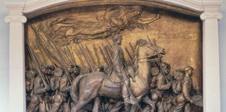 Augustus Saint-Gaudens, Robert Gould Shaw Memorial, 1900. Nat'l Gallery of Art (Saint-Gaudens Nat'l Historic Site, Cornish, NH)