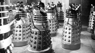 Illustration for article titled R.I.P. Ray Cusick, the designer who helped make the Daleks terrifying