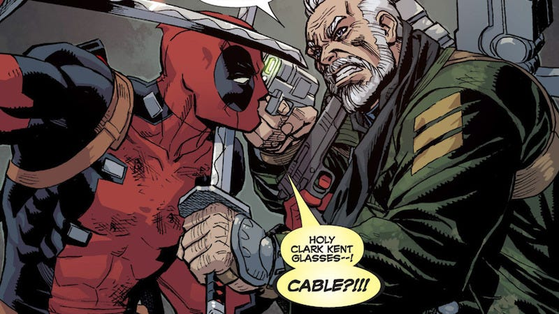 Illustration for article titled Cable's Backstory Is Too Ridiculous Even for Deadpool 2