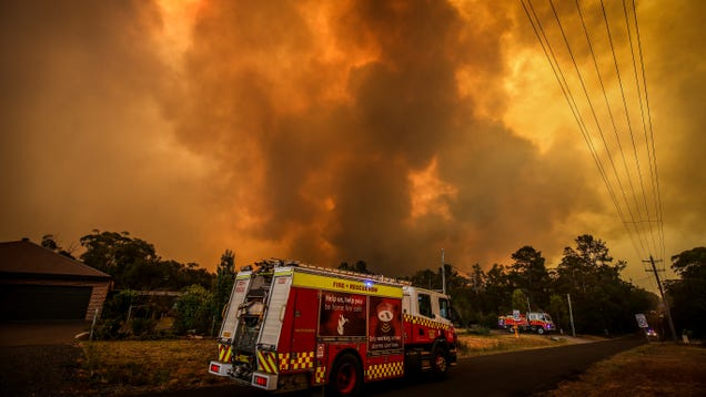 The Australian Bushfires Stuck the Country With a $1.5 Billion Medical Bill