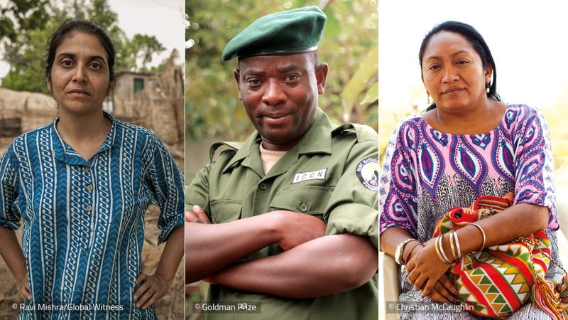 Global Witness report: Defenders of the Earth: Global killings of land and environmental defenders in 2016. Photo Credit: Global Witness