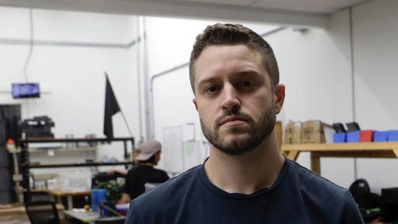 Cody Wilson on Aug. 1, 2018, in Austin, Texas