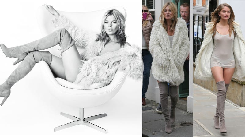 Illustration for article titled Meet Kate Moss's Real-Life Body Double