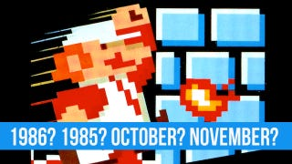 Illustration for article titled Nobody Knows When the Hell Super Mario Bros. Was Released