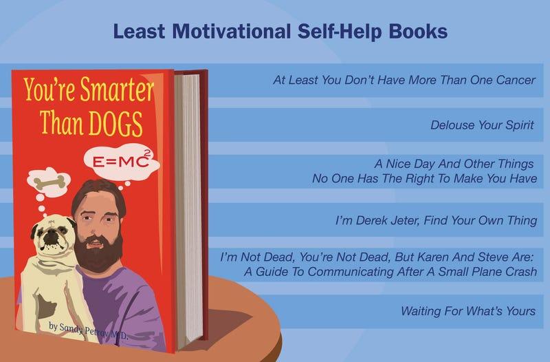 Illustration for article titled Least Motivational Self-Help Books