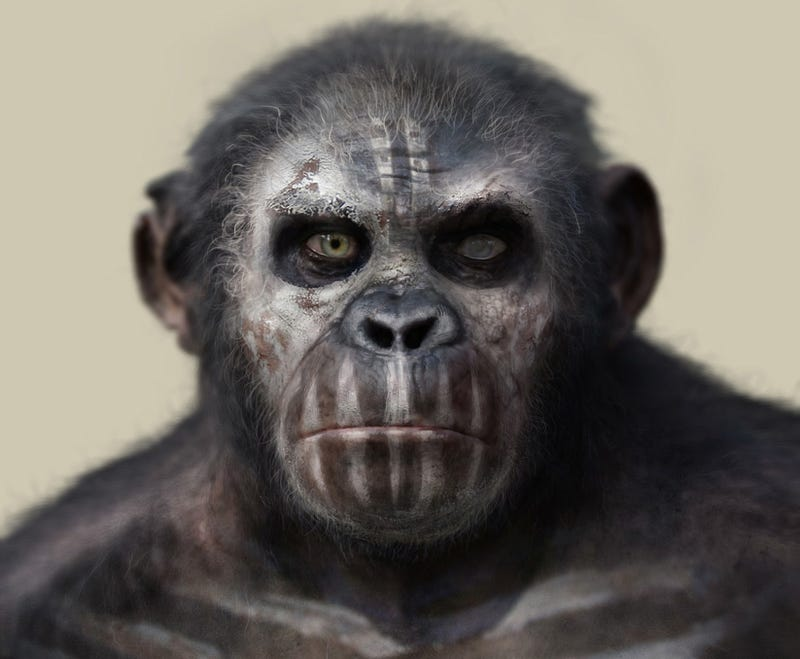 Illustration for article titled Dawn of the Planet of the Apes portraits are scarily human