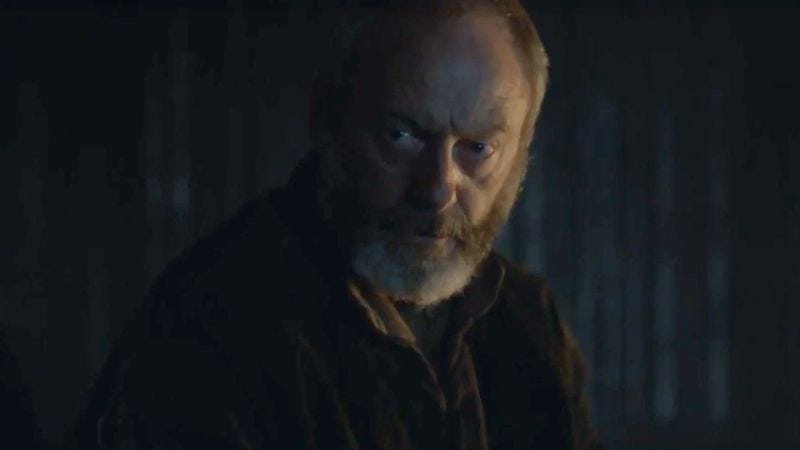 Illustration for article titled Here's a new Game Of Thrones clip, courtesy of Ser Davos and Conan