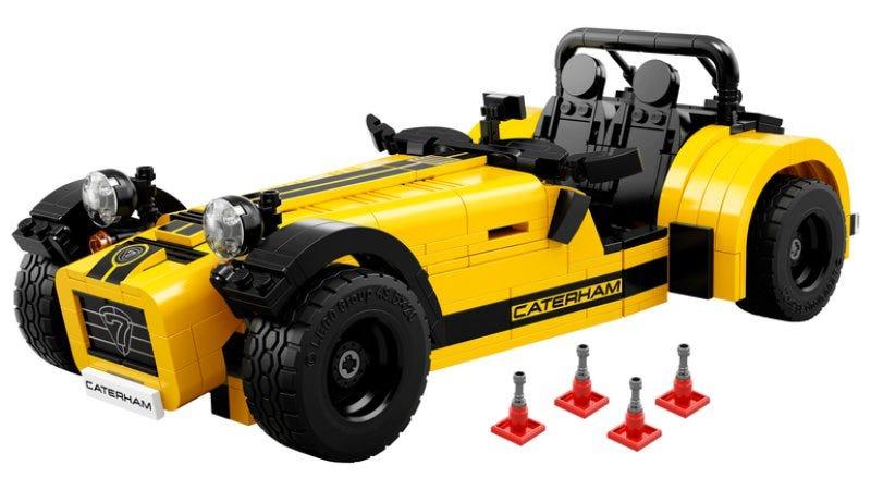 Illustration for article titled LEGO Caterham!