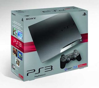 Illustration for article titled 250GB PlayStation 3 Priced And Dated For North America