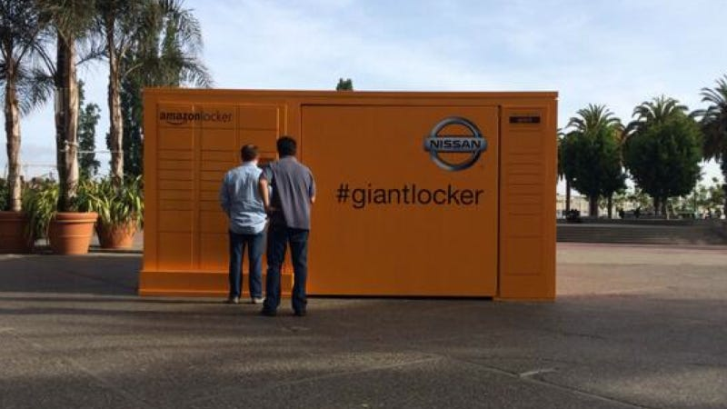Illustration for article titled Here's What's Hiding In That Giant Mysterious Amazon Locker